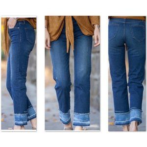 ABLE Local + Global High Rise The Skinny Straight Jeans - 26 - NWT